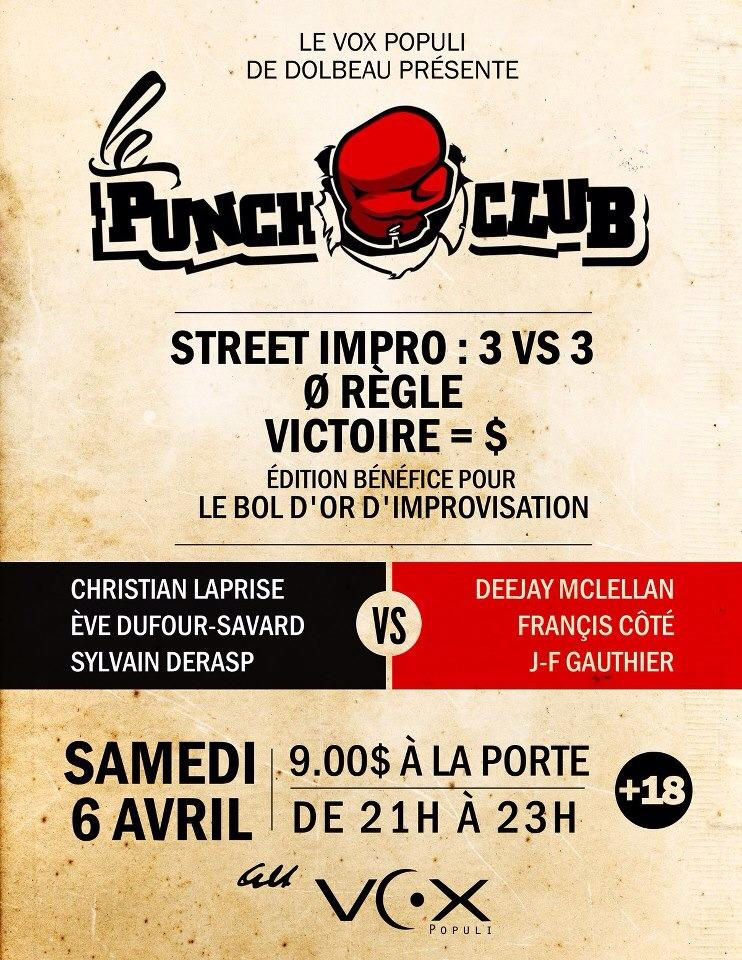 punch club dolbeau