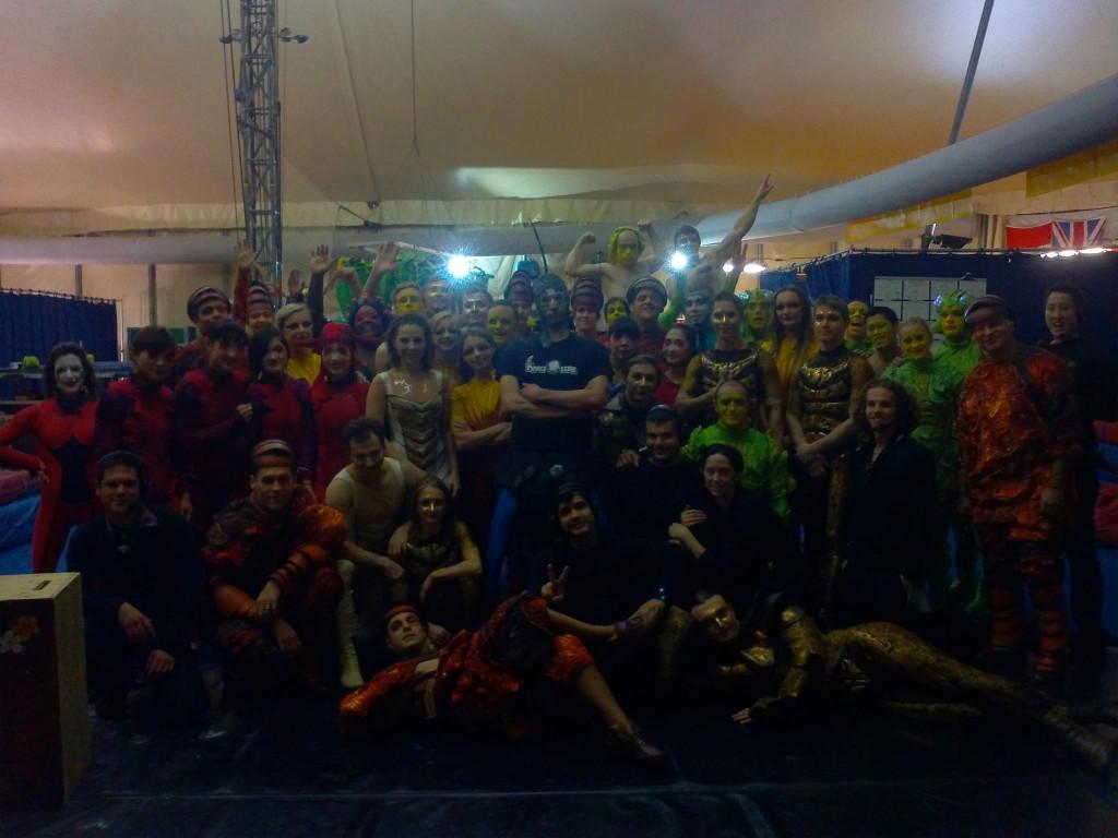 LEBLANC cirque du soleil